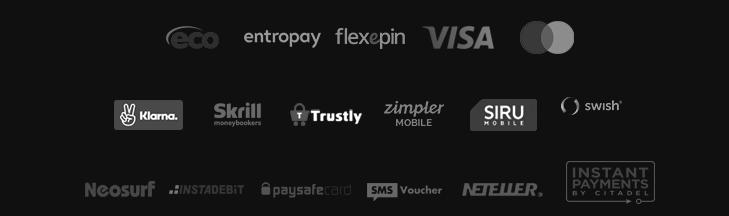 Videoslots betalningsmetoder